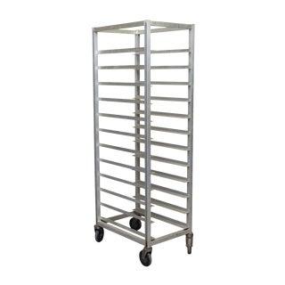 Industrial Eleven Sheet Steel Pan Cart