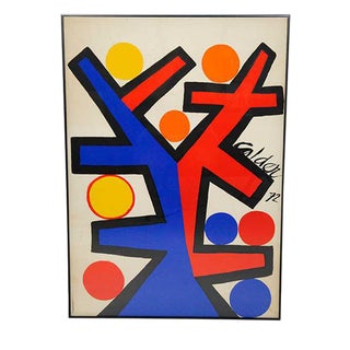 Asymetrie Silk Screen by Alexander Calder