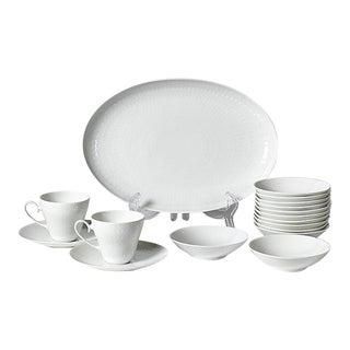 1960s Rosenthal White Dinnerware - Set of 17