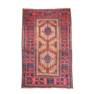 Small Scale Baluch Rug