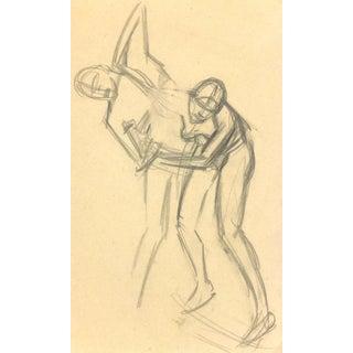 Pencil Drawing by Max Rauh