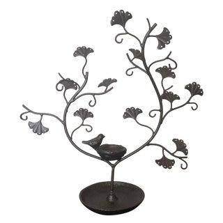 Iron Jewelry Tree Display