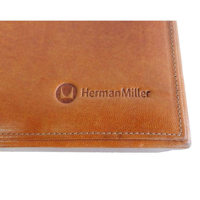 Rare Herman Miller Leather Case Poker Game/Domino - Image 9 of 9
