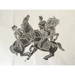 1940s Vintage Chinese Temple Rubbing