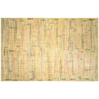 "Turkish Art Deco Rug - 6'9"" x 10'1"""