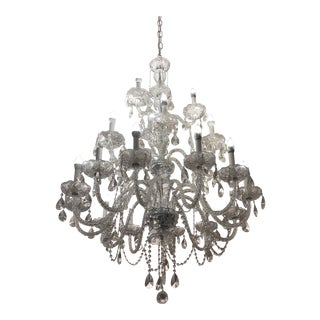 3-Tier 21-Lights Crystal Maria Chandelier