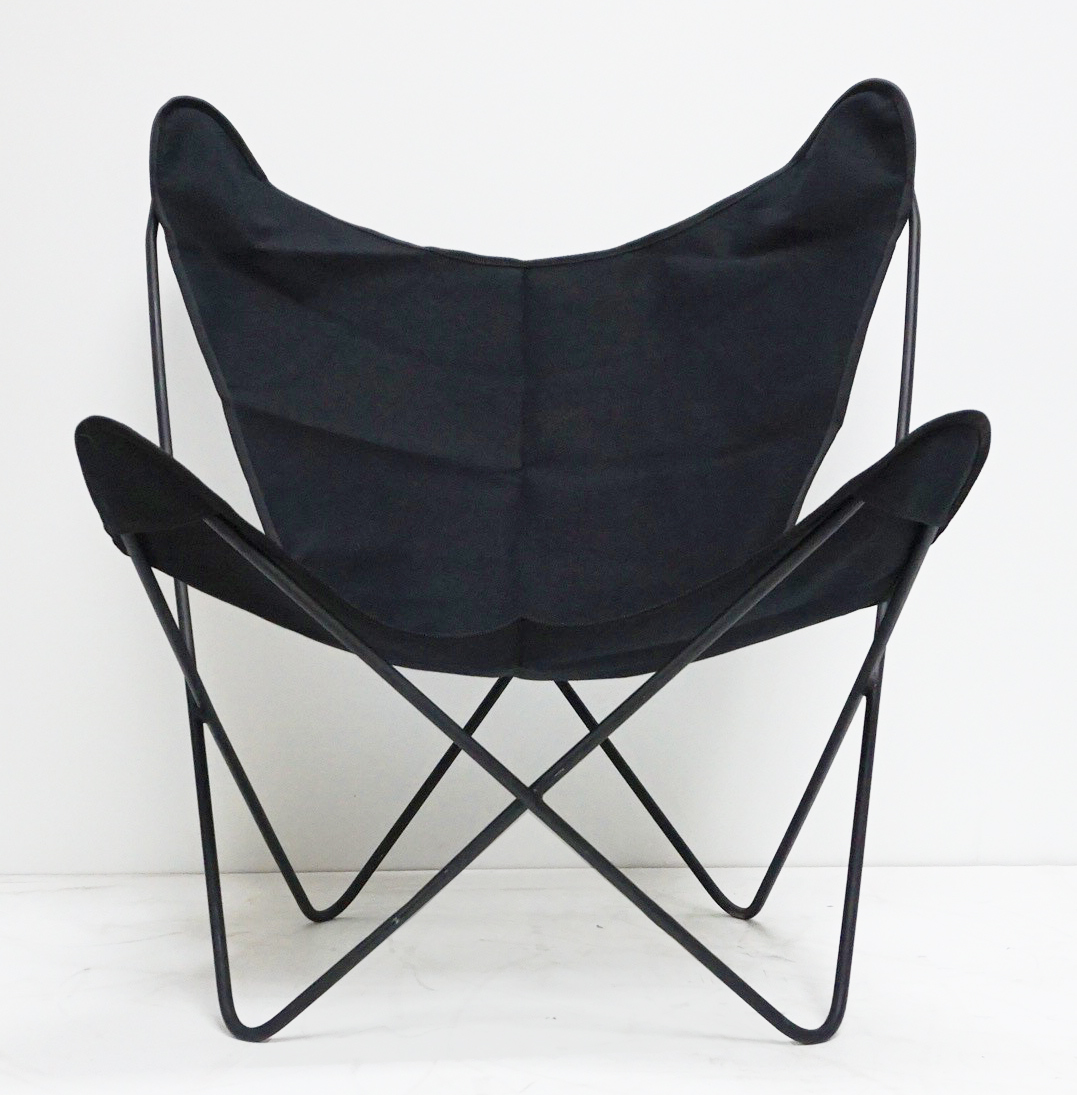 Knoll Hardoy Bfk Butterfly Chairs   Pair   Image 4 Of 6