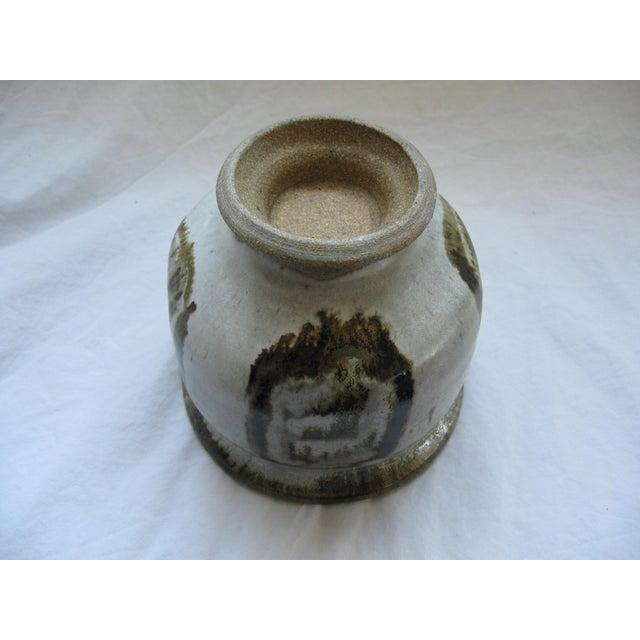 Mid-Century Studio Pedestal Bowl - Image 5 of 6