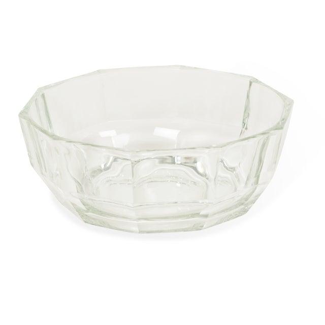 1960s Italian Crystal Decagonal Bowls - A Pair - Image 3 of 8