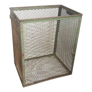 Basket - Vintage Metal Basket