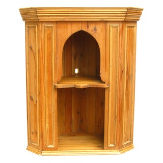 Charming English Pine Cabinet