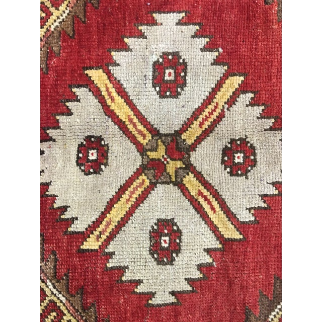 "Bellwether Rugs Vintage Turkish Oushak Runner - 5'x11'3"" - Image 6 of 8"