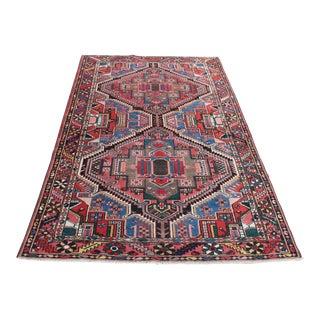"Traditional Persian Wool Rug 4'6"" x 6'9"""