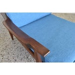 Image of Refinished Mid Century Highback Lounge Chair