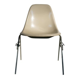 Eames Fiberglass DSS Stackable Chair for Herman Miller