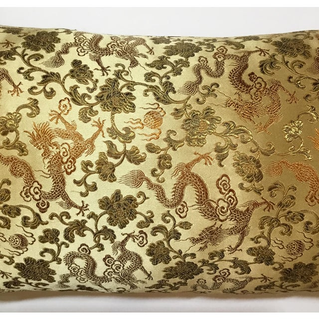 Chinese Silk Pillows - A Pair - Image 7 of 12