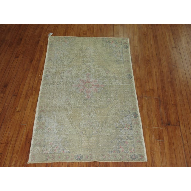 Shabby Chic Turkish Rug - 4'4'' X 7'1'' - Image 2 of 6