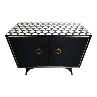Polka Dot Obliviation Bar Cabinet