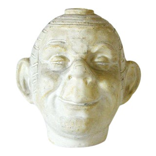 Handmade Ceramic Head Vase