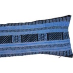 Image of Silk Hill Tribe Indigo Textile Pillow