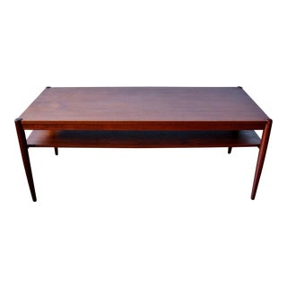 Danish Teak Coffee Table Style of Hans Wegner for Andreas Tuck