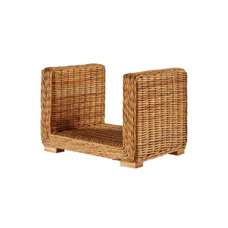 Selamat Designs Hearth Nile Footed Square Log Holder