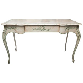 Louis XV Style Painted Writing Table