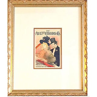 Framed Toulouse Lautrec Ault Wilborg Lithograph
