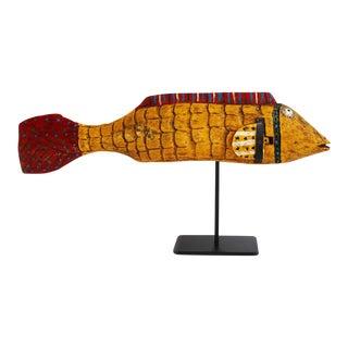 African Mali Mustard Bozo Fish Puppet
