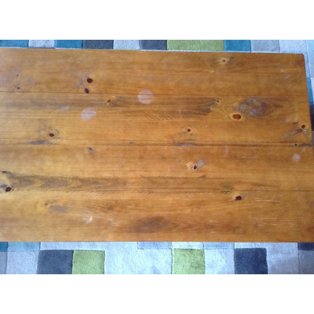 Solid Walnut Wood Coffee Table - Image 5 of 11