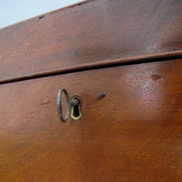 Antique English Mahogany Wine Box - Image 10 of 11