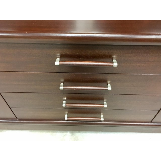 Brown Saltman Mid-Century Dresser Buffet Credenza - Image 3 of 11