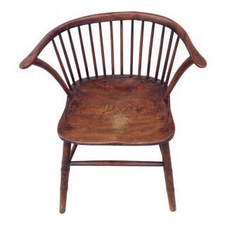 Antique Low Back Windsor Chair
