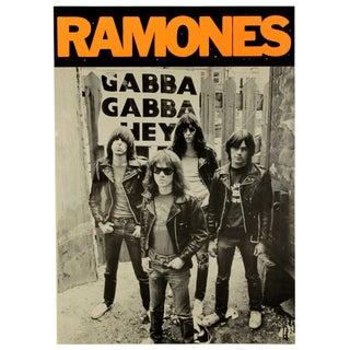 Vintage 70s Ramones Poster
