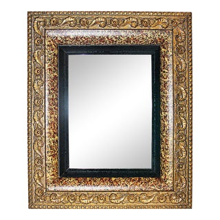 Antique Gilt Speckled Mirror