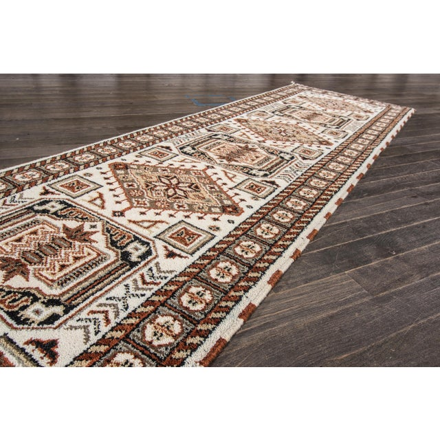 "Apadana - Modern Kazak Rug, 2'10"" x 10'1"" - Image 2 of 5"