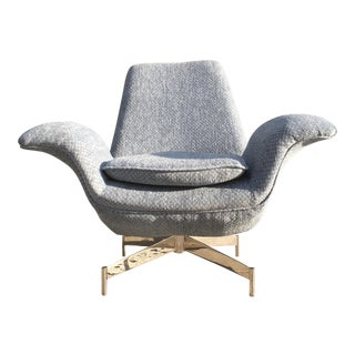 Mid-Century Inspired Lounge Chair