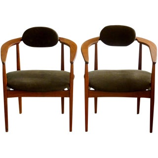 Adrian Pearsall Armchairs - A Pair