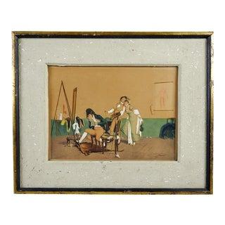 Regency Era Scene by Giovanni Quadrone
