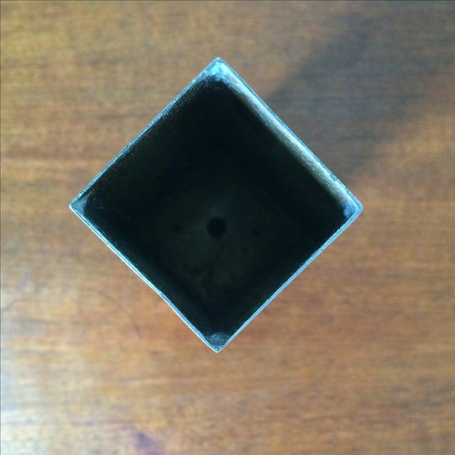 Vintage Brass Vase - Image 4 of 10