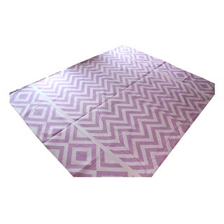 Madeline Weinrib Lilac Lupe Rug - 8' x 10'