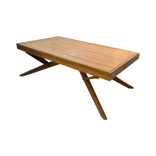 Mid-Century Castro Convertible Dining/Coffee Table - Image 1 of 4