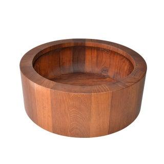 Dansk Teak Wood Bowl By Jens Quistgaard