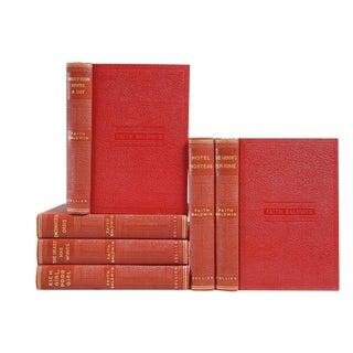 1930's Scarlet & Gilt Novels: Faith Baldwin - Set of 6