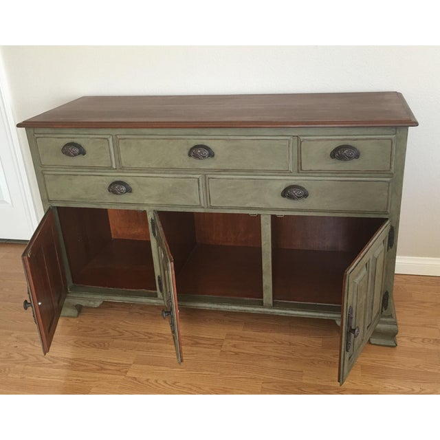 Vintage Solid Wood Kling Buffet - Image 3 of 5