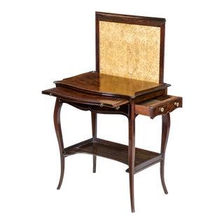 George III Mahogany Ladies' Writing Desk