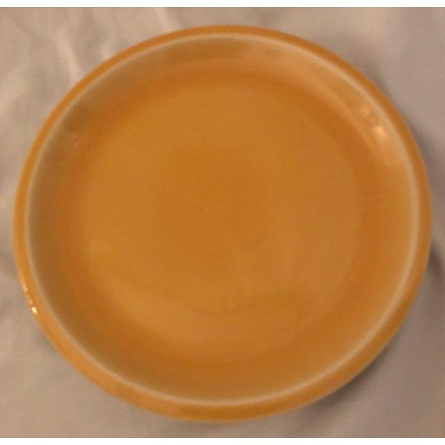 Jars of France Orange Dinner Plates & Yellow Salad Plates - 8 Pieces - Image 6 of 8
