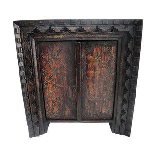 18th Century Tibetan Buddha Altar Cabinet