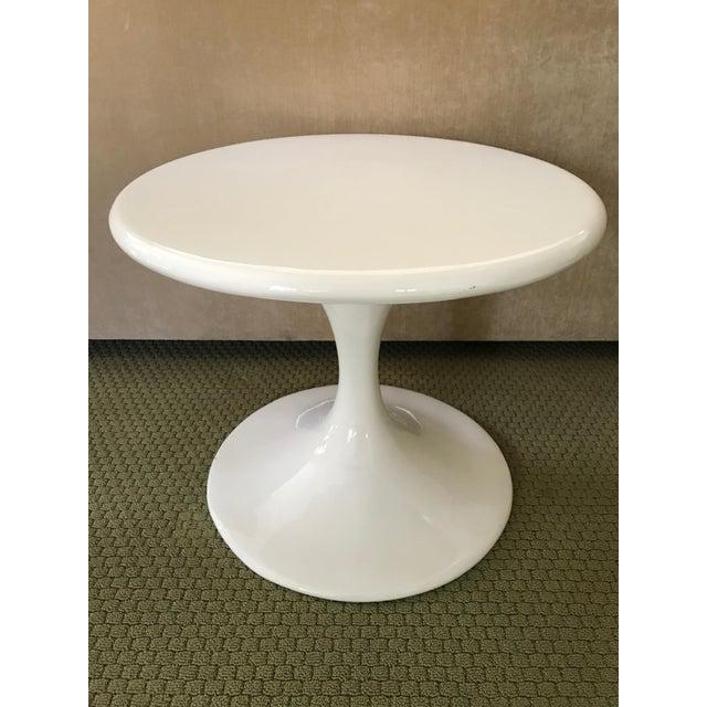 Saarinen Style Tulip Side Table - Image 8 of 8