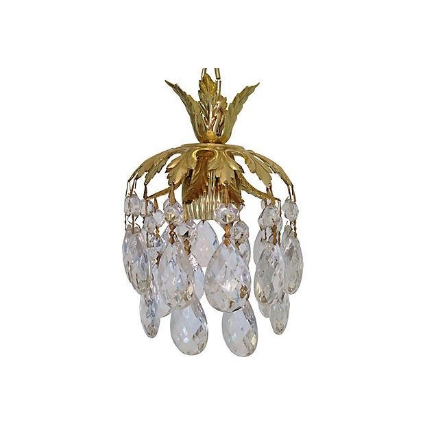 Schonbek Crystal Pendants - Pair - Image 3 of 7